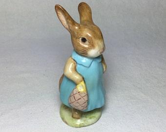 Beatrix Potter's Mrs. Flopsy Bunny Figurine
