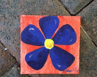Cute flower painting