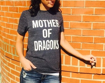 Unisex Tri-Blend T-Shirt Mother Of Dragons