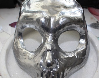 Skull Mask-Chrome.