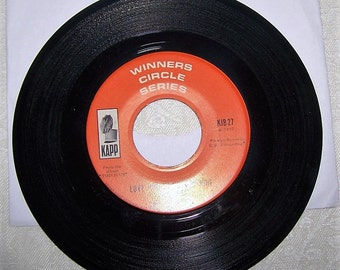 """1960's """"Love Potion Number Nine"""" 45 rpm Record by The Searchers"""
