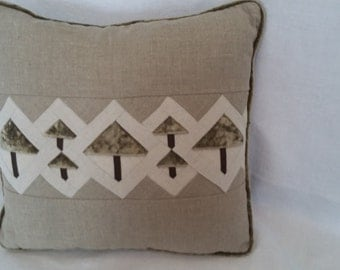 Linen Tree Pillow