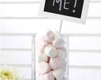 Mini Chalkboard Table Top Decoration - 5 in a pack