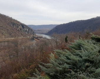 A shot from the Hilltop House Hotel in Harpers Ferry West Virginia