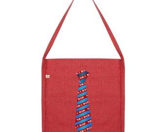 No.1 Dad Tie Tote Bag