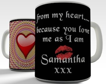 Personalized Romantic Ceramic Novelty Mug