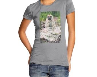 Women's Snug As A Pug In A Rug T-Shirt