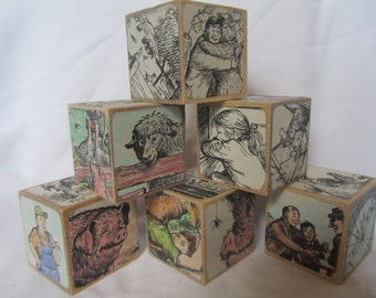Charlotte's Web Wooden Blocks