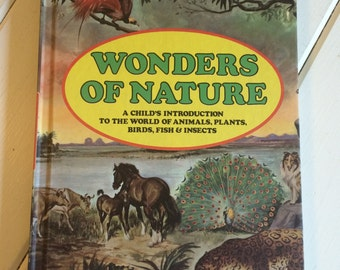 Beautifully illustrated 'Wonder of Nature' children's book.