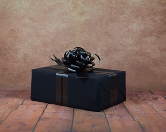Classic Collection Gift Wrap Kit - Black