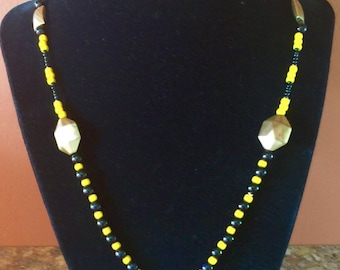 Steeler necklace with pendant