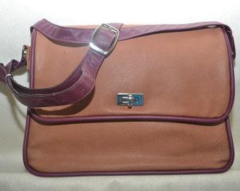Larger Soft Brown Leather Bag