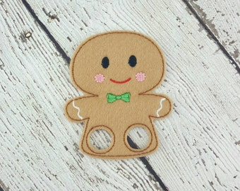 Gingerbread Finger Puppet