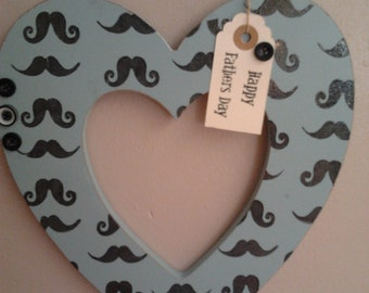 Father's Day/Happy Birthday 10 inch hanging heart