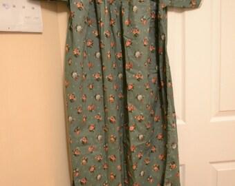 Handmade Light Green Nightgown