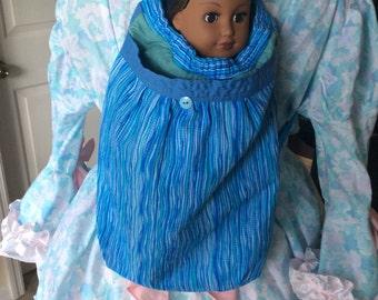 "18"" doll carrier- backpack"