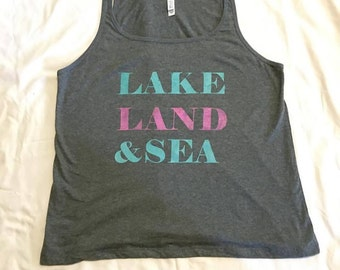 LAKE, LAND & SEA Tank