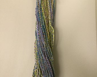 Colorful wool handspun, DK weight
