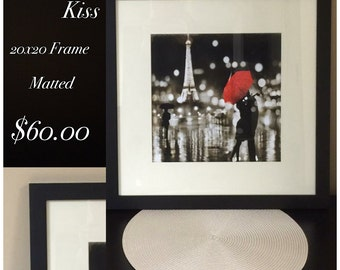 A Paris Kiss New Wall Picture-Sold Taking Orders