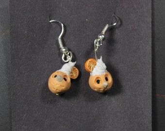 Tiny Fruitowl Earrings
