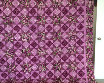 Sweet Pea large queen quilt