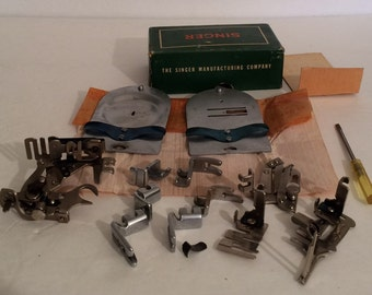 Sewing Machine Parts Singer Class 306 Machines Attachments in Box