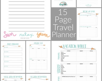 Family Travel & Vacation Planner