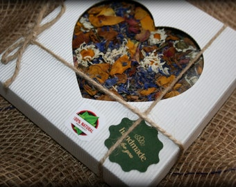 Dried flowers, dried flower petals – wedding confetti. Roses, peonies, wild meadow flowers. 2 cups