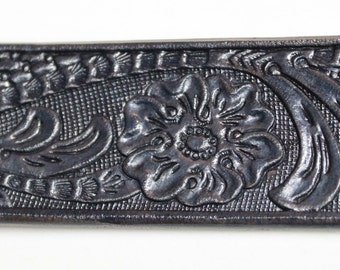 Custom Made Leather Belts Small Medium, Large, Extra Large, XXL, Floral
