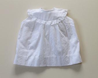 Sleeveless baby blouse - 6m