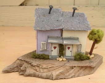 Twins...pair of driftwood cottages