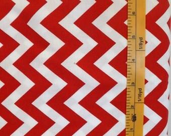 Robert Kaufman, Ann Kellie, Remix, design 13900, red and white chevron quilting material