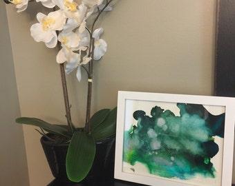 Framed fire art