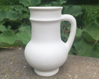Ceramic Bisque Mug - Ready to Paint