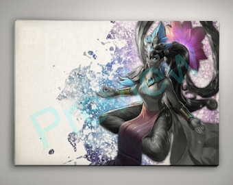 League of Legends Karma Print Buy ANY 2 get 3rd FREE League of Legends Wall Art