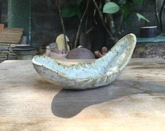 Handmade snack ceramic platter