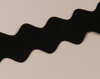 Black Grosgrain Ribbon 1 inch