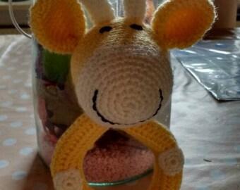 Giraffe rattle/rattle giraffe