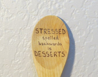 Stressed Wooden Spoon