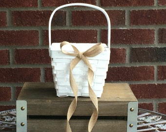 Basket, Flower Girl Basket