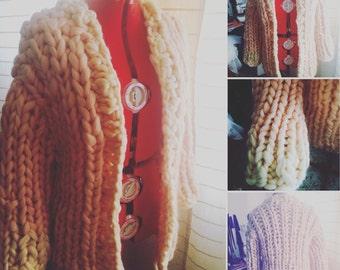Wool Cardigan / Кардиган из шерсти объемной вязки