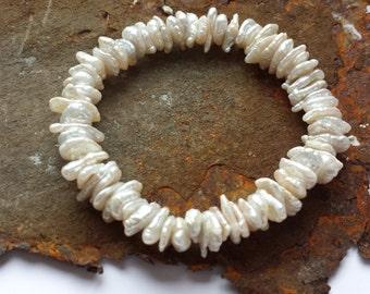 Genuine Pearl Bead Bracelet