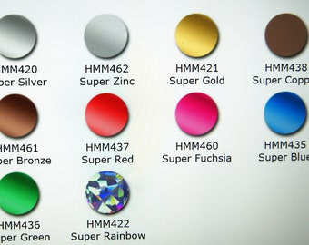 "Chemica HotMark Metallic HTV--12"" x 14"" Sheet--Iron On--5 Color Choices--SALE--While It Lasts!"