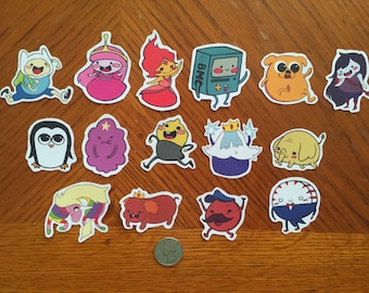 Adventure Time Stickers Set 1 & 2