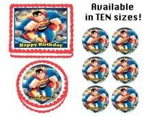 Popular Items For Superman Cake Topper On Etsy