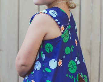 Pinafore, Baby and Toddler Dress - Spring Fling