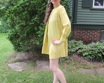 True Vintage Paisley Mini Dress