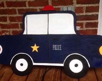 Police Car Wall Decor