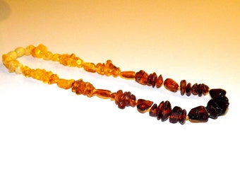 Natural Baltic amber baby necklace 12g
