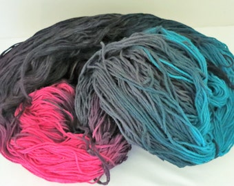 Hand Dyed Mercerized Cabled Cotton - CRAYONS LITE M - from Rainbow Mills - 476 g - 847 yards